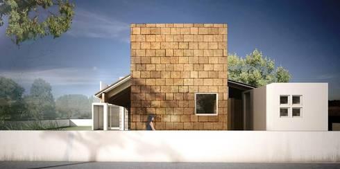 Hacienda Cantalagua: Casas de estilo moderno por REA + m3 Taller de Arquitectura
