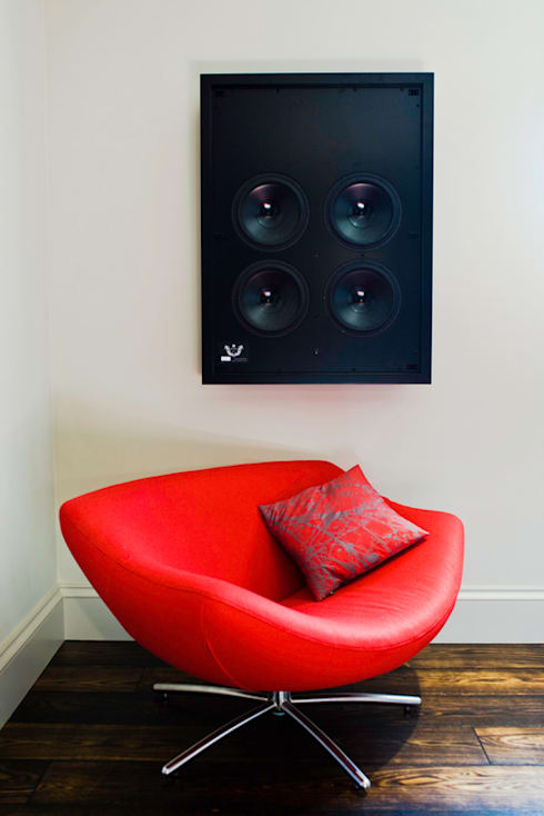 Artcoustic Home Cinema: modern Media room by Finite Solutions