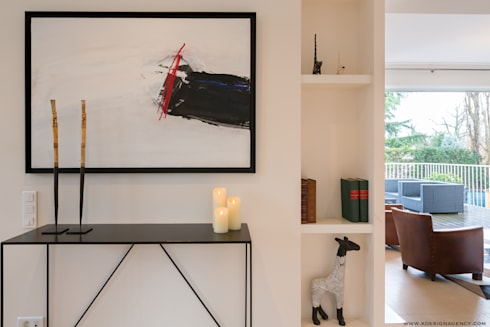 r novation maison r gion parisienne par k design agency. Black Bedroom Furniture Sets. Home Design Ideas