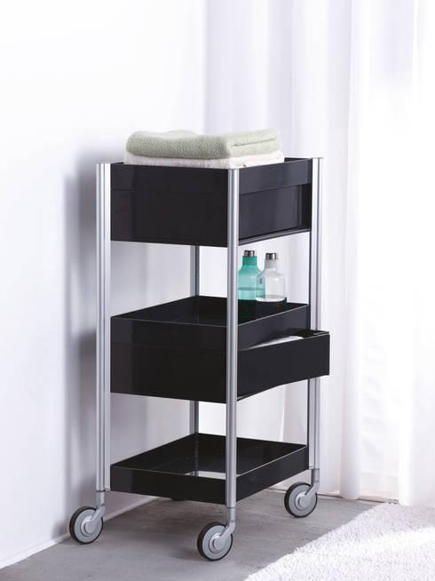 Studio Domo ALLY Trolley:  Badezimmer von Designstudio speziell®