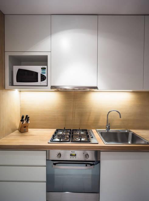 Projekty,  Kuchnia zaprojektowane przez GRUPA HYBRYDA