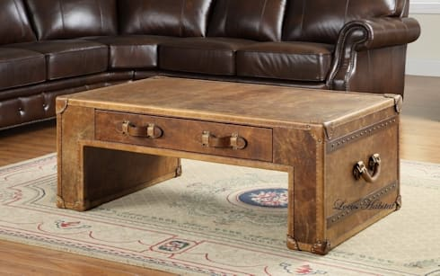 Leather Coffee Table from Locus Habitat:  Household by Locus Habitat