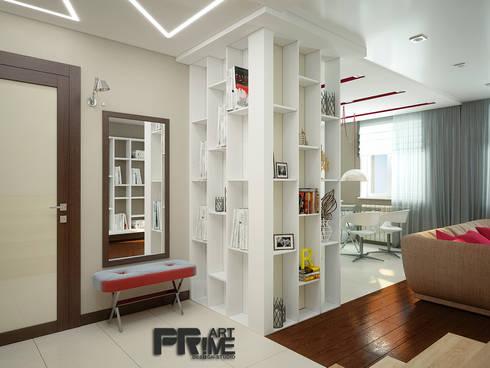 Проект квартиры для молодоженов: Коридор и прихожая в . Автор – 'PRimeART'