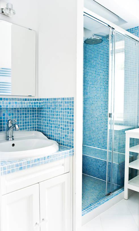 Miśkiewicz Designが手掛けた浴室