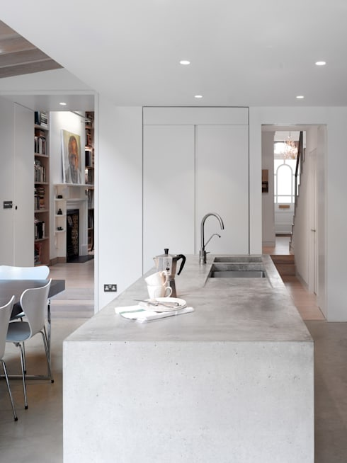 modern Kitchen by Platform 5 Architects LLP