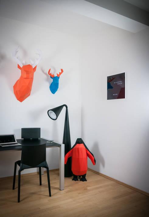 Papertrophy elk & penguin:  Badezimmer von Papertrophy