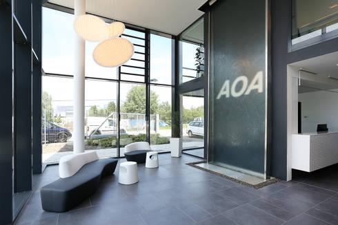 Bürogebäude der AOA Apparatebau Gauting GmbH - Firmensitz Dresden ...