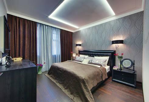 Невесомый дизайн: Спальни в . Автор – Порядок вещей - дизайн-бюро