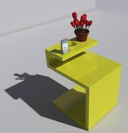 Salones de estilo  de T_C_Interior_Design___