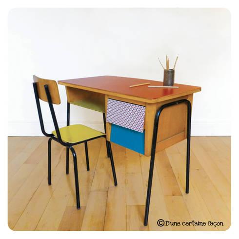 d 39 une certaine fa on mobilier vintage et color par d 39 une certaine fa on homify. Black Bedroom Furniture Sets. Home Design Ideas