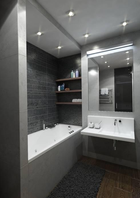 Квартира V: Ванная комната в . Автор – MIODESIGN