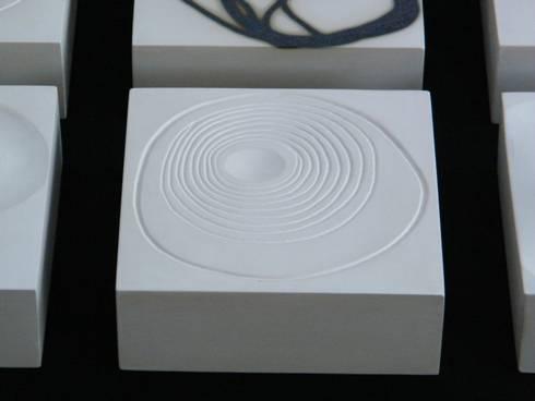 Signals of life - E - Composition(s):  Kunst  door Marc Verbruggen - ceramic art