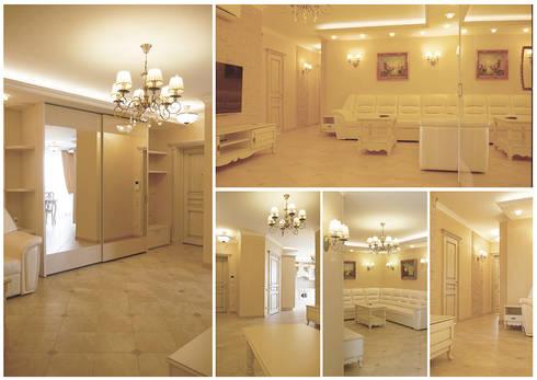 гостиная-холл:  в . Автор – Milana Gulam Design