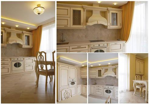 кухня:  в . Автор – Milana Gulam Design