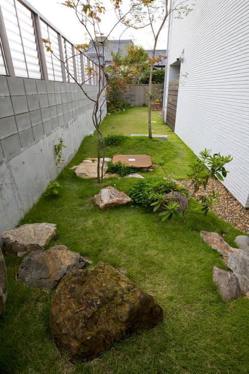 K`s   Camp(住宅): 株式会社 入船設計が手掛けた庭です。
