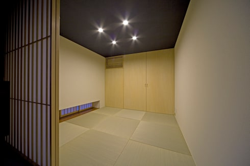 K`s   Camp(住宅): 株式会社 入船設計が手掛けた和室です。