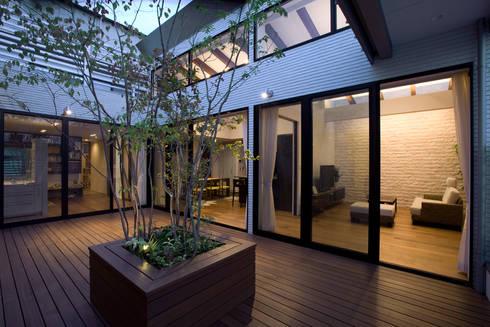 K`s   Camp(住宅): 株式会社 入船設計が手掛けたベランダです。