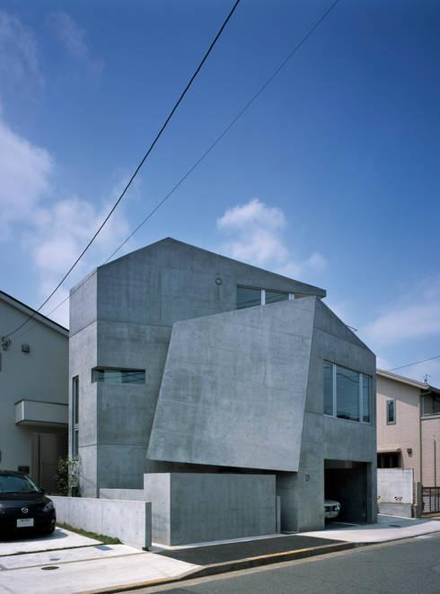 房子 by 筒井紀博空間工房/KIHAKU tsutsui TOPOS studio