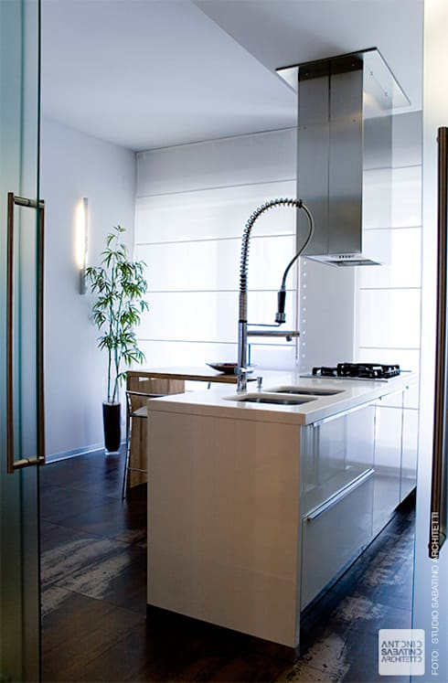 Cocinas de estilo  por Studio Sabatino Architetto