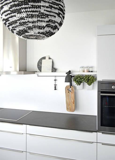 Projekty,  Kuchnia zaprojektowane przez Kristina Steinmetz Design