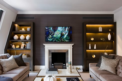 Duke Street, Mayfair: classic Living room by Perfect Integration