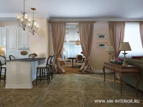 Дизайн коттеджа в Пестово.:  в . Автор – дизайн-студия Nw-interior