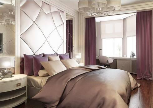 Спальня в стиле Ар деко: Спальни в . Автор – Павел Белый и дизайнеры