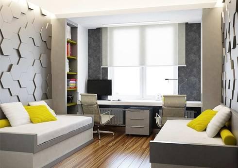 Детская комнатав современном стиле : Детские комнаты в . Автор – Павел Белый и дизайнеры