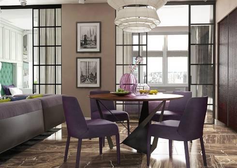 Современная гостиная в стиле ар деко: Гостиная в . Автор – Павел Белый и дизайнеры