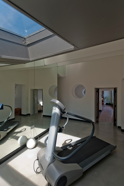 Officina29_ARCHITETTI:  tarz Fitness Odası