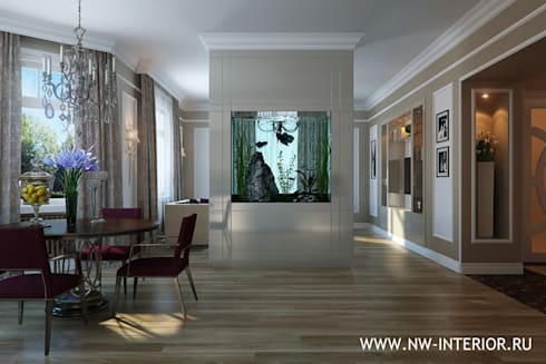 Квартира в стиле неоклассики.:  в . Автор – дизайн-студия Nw-interior