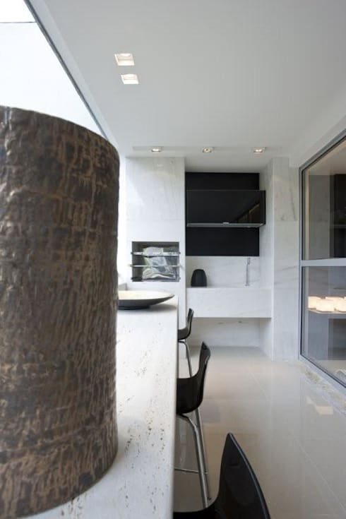 Decorado : Terraços  por Jaqueline Frauches Arquitetura e Interiores