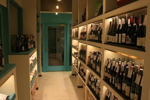 Wine cellar-2: Shigeo Nakamura Design Officeが手掛けたオフィススペース&店です。