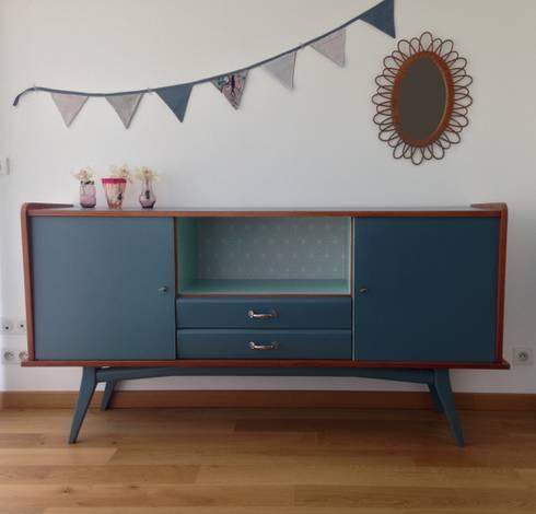 meubles vintages relook s par lilibroc homify. Black Bedroom Furniture Sets. Home Design Ideas