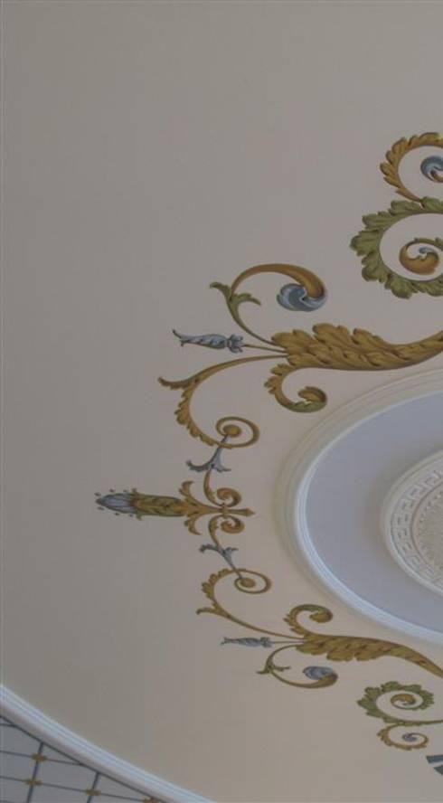 роспись потолка: Офисные помещения и магазины в . Автор – Абрикос