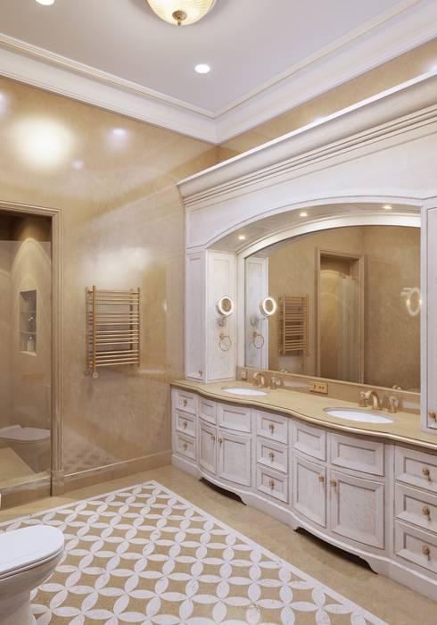 Ванная главная:  в . Автор – Архитектор Николай Бахтинов