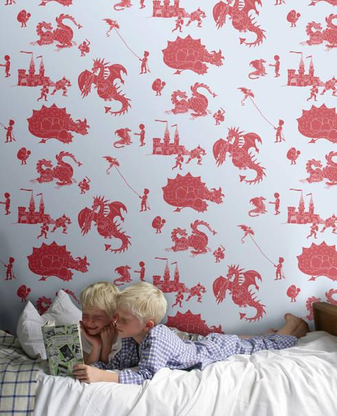 ausgefallene Kinderzimmer von Mister Smith Interiors