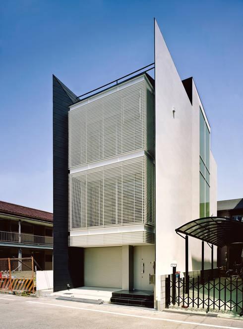 ファサード2: 岩井文彦建築研究所が手掛けた家です。