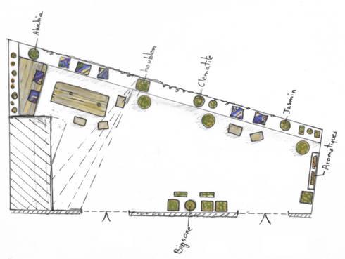 terrasse urbaine toits de marseille por a calu paysagiste concepteur homify. Black Bedroom Furniture Sets. Home Design Ideas