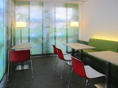 Sozialraum:  Bürogebäude von hansen innenarchitektur materialberatung