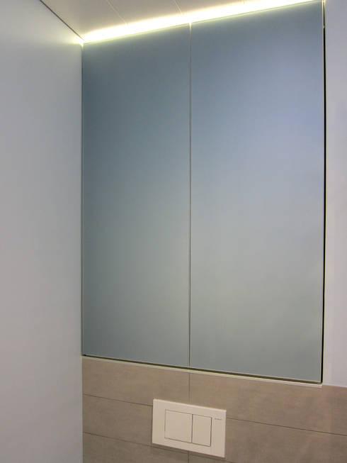 kleines bad mit großer dusche von hansen innenarchitektur, Badezimmer