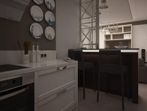 Dubrava: Кухни в . Автор – Alfia Ilkiv Interior Designer