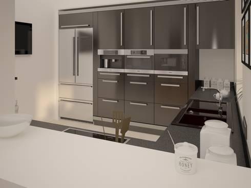 Krylatskiye Kholmy: Кухни в . Автор – Alfia Ilkiv Interior Designer