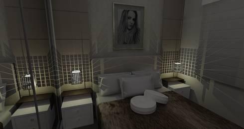 Dormitório Mulher Jovem: Quartos  por RS Design Studio