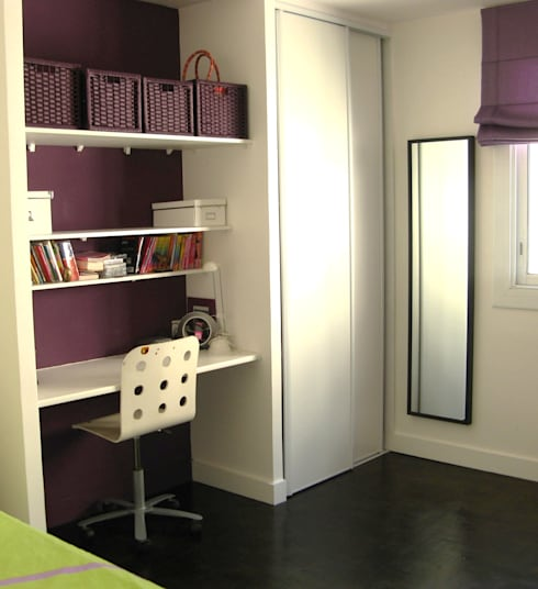 minimalistic Nursery/kid's room by espaces & déco