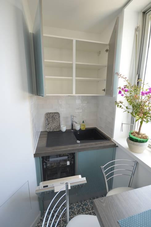 Cocinas de estilo  por Parisdinterieur