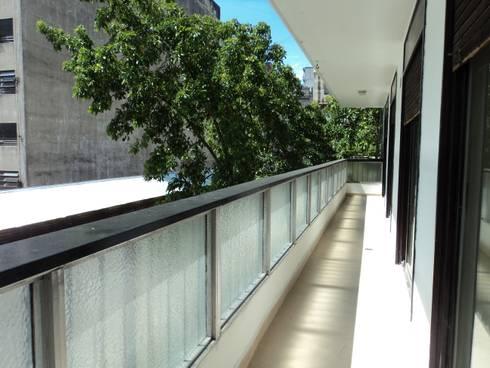 Refacción semi piso RP: Terrazas de estilo  por Dali Arquitectura