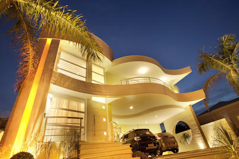 Casa Mercury: Casas modernas por Arquiteto Aquiles Nícolas Kílaris