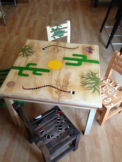 Desierto: Habitaciones infantiles de estilo  por Libel