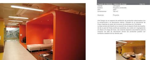 Life Design, Galerías Guadalajara: Espacios comerciales de estilo  por LEAP Laboratorio en Arquitectura Progresiva